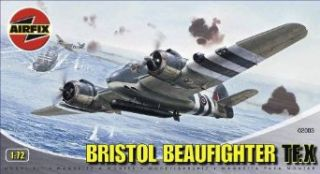 Airfix A02003 172 Scale Bristol Beaufighter Military Aircraft Classic Kit Series 2 Toys & Games