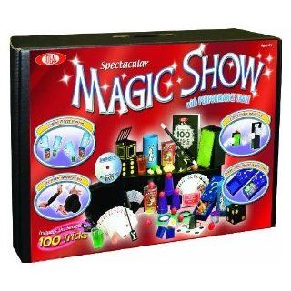 POOF Slinky 0C4769 Ideal 100 Trick Spectacular Magic Show Suitcase with Instructional DVD Toys & Games