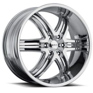 "Boss Motorsports  344 Wheel with Chrome Finish (22x9""/6) Automotive"