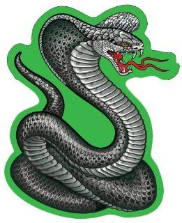 Cobra Snake Window Decal Sticker Car Truck SUV Home Office Garage Automotive