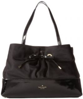 kate spade new york Maryanne PXRU4354 Shoulder Bag, Black/Cream, One Size Messenger Bags Shoes