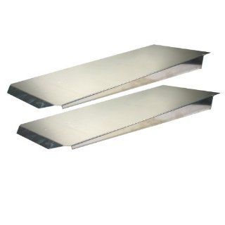 "Pit Pal Products 702 14"" x 72"" Aluminum Dual Trailer Ramp Automotive"