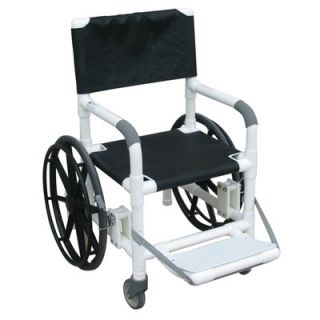 MJM International Echo Beach/Pool Shower/Commode Wheelchair with Sling