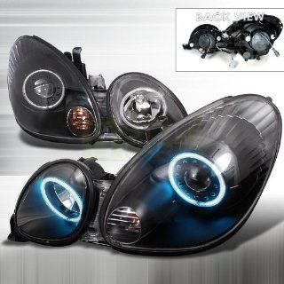 1998 2005 Lexus GS300 CCFL Halo Projector Headlights Black Automotive