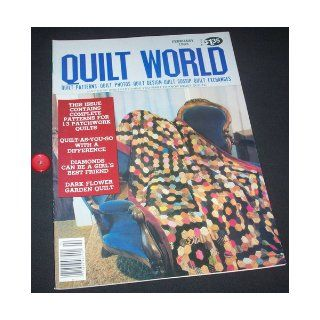 Quilt World Magazine   January/February 1983 (Projects Flower Garden, Duckling Block, Frog Baby Quilt, Barnyard Potholders, Piecing the Virginia Star, Ohio Star, The Lone Eagle., Vol. 8, No. 1) Barbara Hall Pedersen Books