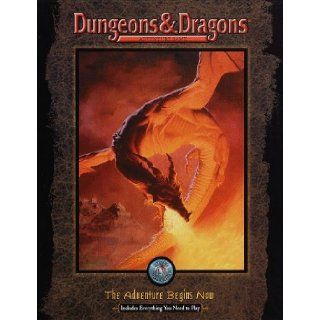 Dungeons & Dragons Adventure Game The Adventure Begins Now  Everything You Need to Play (Dungeons & Dragons Set) Tsr 9780786914500 Books