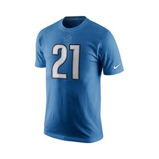 NIKE Mens Detriot Lions Reggie Bush Player Pride Name And Number T Shirt
