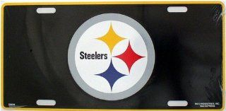 Pittsburgh Steelers NFL Embossed Aluminum Automotive Novelty License Plate Tag Sign Automotive