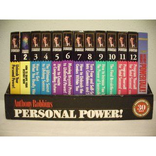 Anthony Robbins Personal Power A 30 Day Program (24 Audio Cassettes) Anthony Robbins Books