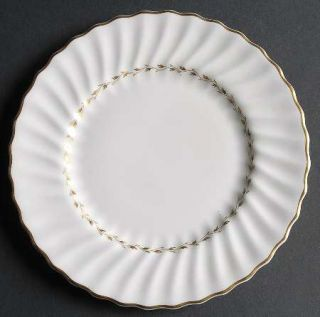 Royal Doulton Adrian Bread & Butter Plate, Fine China Dinnerware   Inner Gold La