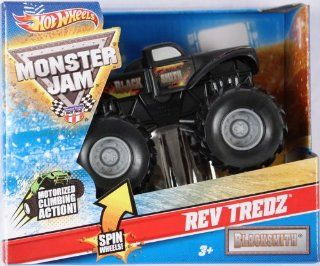 Hot Wheels   Monster Jam   Rev Tredz (143 scale)   Blacksmith Toys & Games