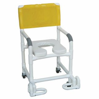MJM International Standard Deluxe Shower Chair with Soft Seat and
