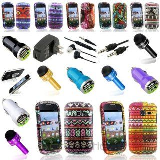 XMAS SALE Hot new 2014 model Colors Hard Case+7x Accessory Bundle Cable For Samsung Galaxy Centura S738CCHOOSE COLOR Cell Phones & Accessories