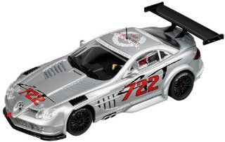 "Carrera USA Evolution, Mercedes Benz SLR McLaren GT ""No.722"" Race Car Toys & Games"