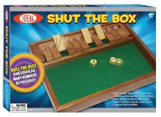 POOF Slinky 36600 Ideal Shut The Box Tabletop Game Toys & Games