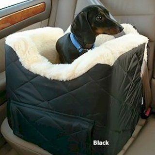 Snoozer Pet Dog Cat Puppy Outdoor Lookout II Car SUV Secure Safety Seat Medium Denim  Automotive Pet Booster Seats