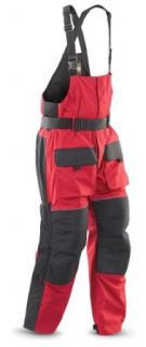 Men's Guide Gear Ice Bibs Blue / Black, RED, M Clothing
