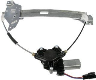 Dorman 748 510 Chevrolet Impala Rear Driver Side Window Regulator with Motor Automotive