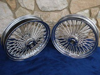 "16X3.5"" DNA MAMMOTH 52 SPOKE WHEEL SET FOR HARLEY HERITAGE FATBOY CLASSIC DELUXE 2000 07 Automotive"