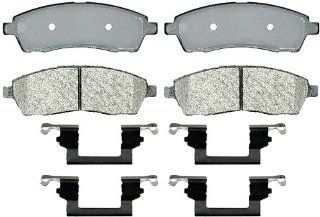 ACDelco 17D757MH Professional Durastop Rear Semi Metallic Disc Brake Pad Kit Automotive