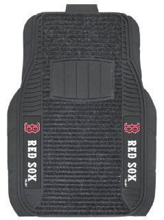 FANMATS MLB Boston Red Sox Nylon Face Deluxe Car Mat Automotive