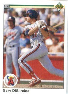 1990 Upper Deck # 761 Gary DiSarcina California Angels   MLB Baseball Trading Card Sports Collectibles