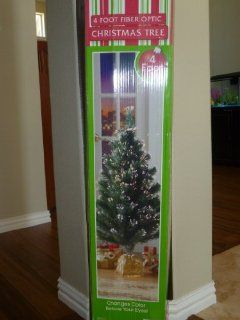 4 Ft. Pre lit Fiber Optic Christmas Tree