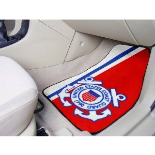 IFS   US Coast Guard Car Floor Mats (2 Front)   Sports Fan Area Rugs