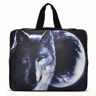 "Wolf & Moon 13"" 13.3"" inch Notebook Laptop Case Sleeve Carrying bag with Hide Handle for Apple Macbook pro 13 Air 13/ Samsung 900X3 530 535U3/Dell XPS 13 Vostro 3360 inspiron 13/ ASUS UX32 UX31 U36 X35 /SONY SD4/ThinkPad X1 L330 E330 Compute"
