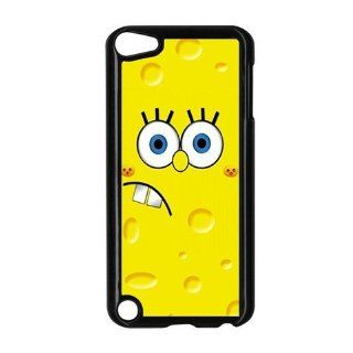 Spongebob Movie Ipod Touch 5/5g/5th Generation Case   Ipod Touch 5 Hard Case Black Cover Gift Idea Cell Phones & Accessories