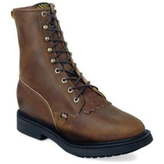 Justin Original Workboots Style 764 Mens Work Boot Shoes