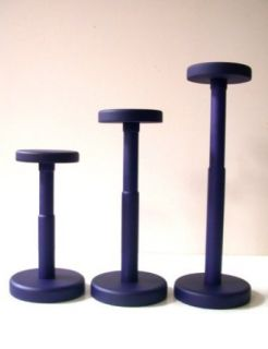 Contemporary Wood Hat Stand   Purple Clothing