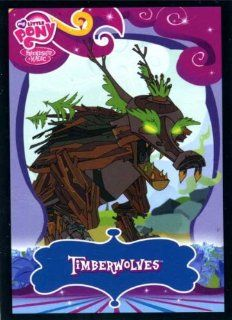 My Little Pony Friendship Is Magic Series 2 Single Trading Card Common TImberwolves #31 Toys & Games