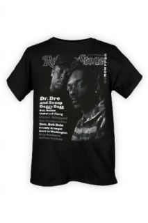 Snoop Dogg And Dr Dre Rolling Stone Cover T Shirt Size  Large Music Fan T Shirts Clothing