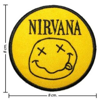 Nirvana Music Band Logo II Embroidered Iron Patches Clothing