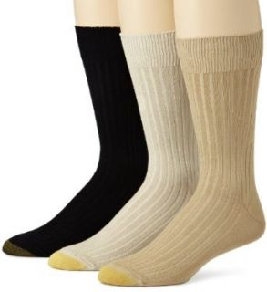 Gold Toe Men's Canterbury Dress Sock, 3 Pack Clothing