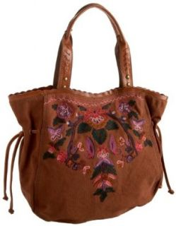 Lucky Brand Hightime Tote,Western Brown,one size Shoes