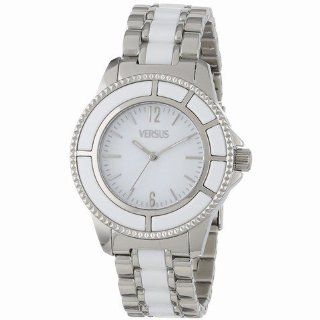 Versus by Versace Women's AL13SBQ801A991 Tokyo Polished Stainless Steel White Dial Watch Watches