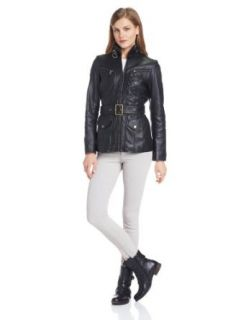 Marc New York by Andrew Marc Women's Vince Leather Jacket