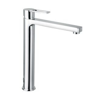 WS Bath Collections Ringo 081 CR Single Hole Bathroom Faucet   Bathroom Sink Faucets