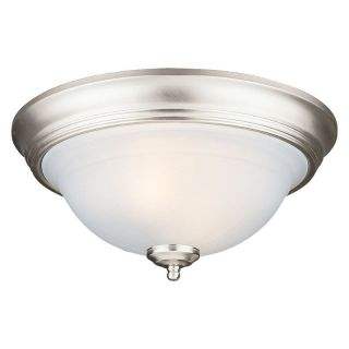 Sea Gull Canterbury Ceiling Light   13W in. Brushed Nickel   Ceiling Lighting