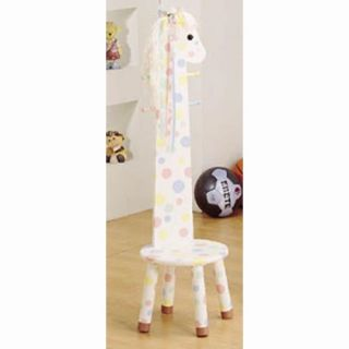 Fantasy Fields Pony Wooden Standing Coat Rack and Stool   Specialty Chairs
