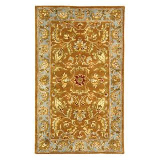 Safavieh Heritage HG812A Area Rug   Brown/Blue   Area Rugs