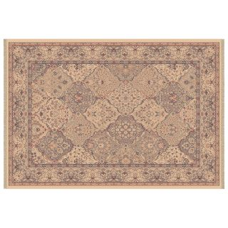 Dynamic Rugs Ancient Garden Collection Hearth Rug Blue Turbine   Hearth Rugs