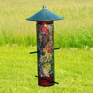 Sequin Thistle Feeder Round   Orange/Yellow   Bird Feeders