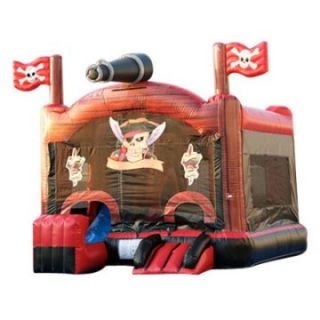EZ Inflatables Pirate Combo Bounce House   Commercial Inflatables