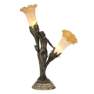 Dale Tiffany Floral Lady Accent Lamp   Table Lamps