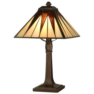 Dale Tiffany Cooper Accent Lamp   Table Lamps