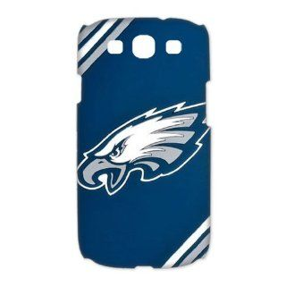 Treasure Design NFL Superbowl Philadelphia Eagles Team Logo Samsung Galaxy S3 9300 3d Best Durable Case Cell Phones & Accessories