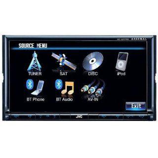 "BRAND NEW JVC """"ARSENAL SERIES"""" KW ADV793 Car DVD / CD /  / AM/FM / WMA Receiver with 7 inch Wide Touch Screen LCD Monitor and Anti theft Detachable Face Panel works with iPod and iPhone (MADE IN INDONESIA)  Vehicle Receivers  Ca"